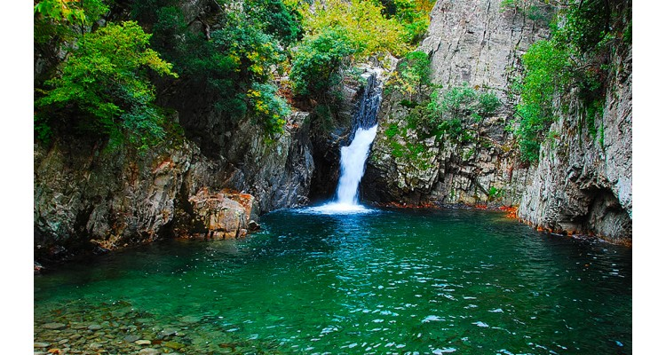 Samothraki-waterfalls