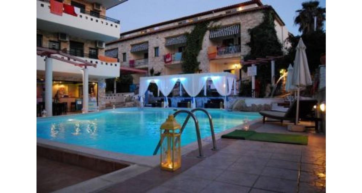 Philoxenia hotel 1 Philoxenia Spa Hotel Redblueguidecom
