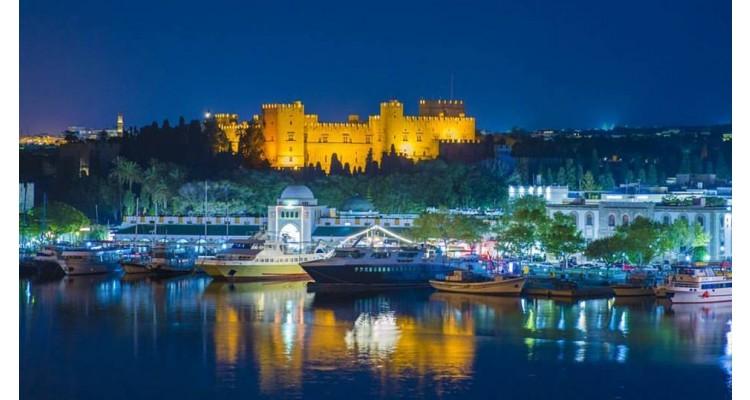 Rhodes-by night