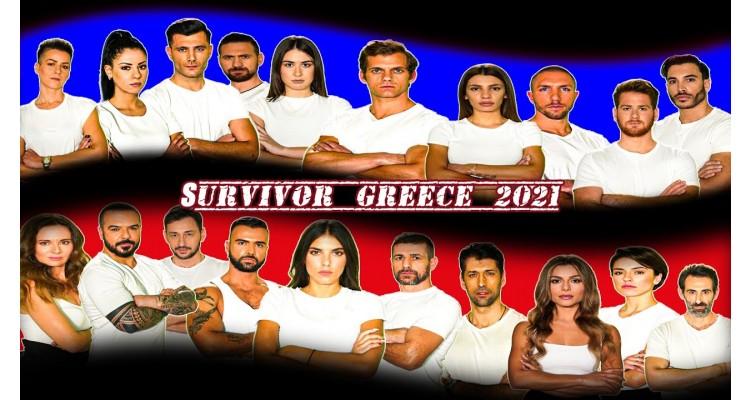 survivor Greece-2021-teams