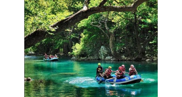 Βοϊδομάτης-rafting