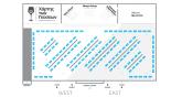 Map of Flavors-halls plan