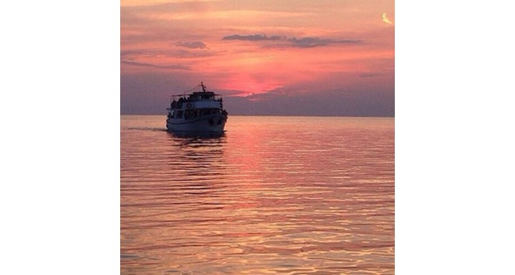 Karavaki Thessaloniki Cruises-sunset
