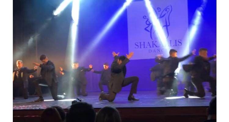 Zeibekiko Dance-Sakallis
