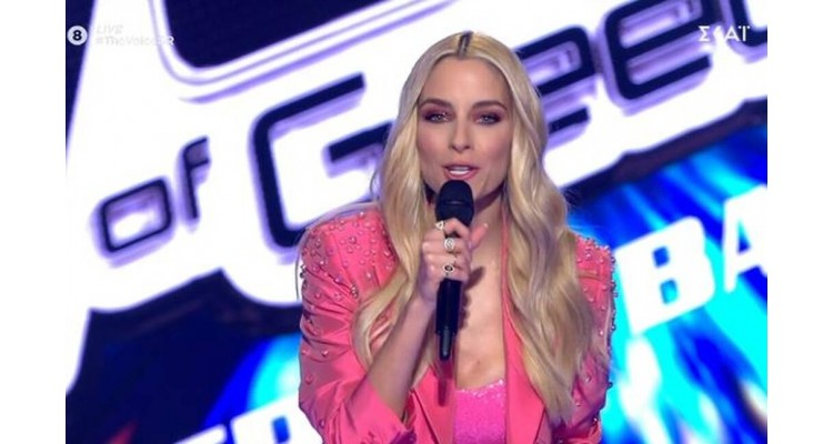 The Voice of Greece-Doukissa Nomikou