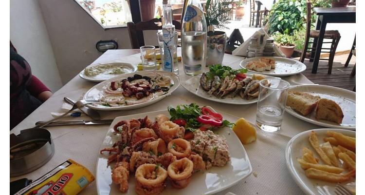 Krambousa restaurant-Thassos