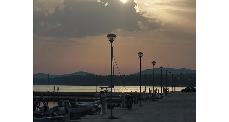 Nikiti coast