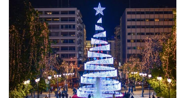 Αθήνα-Χριστούγεννα