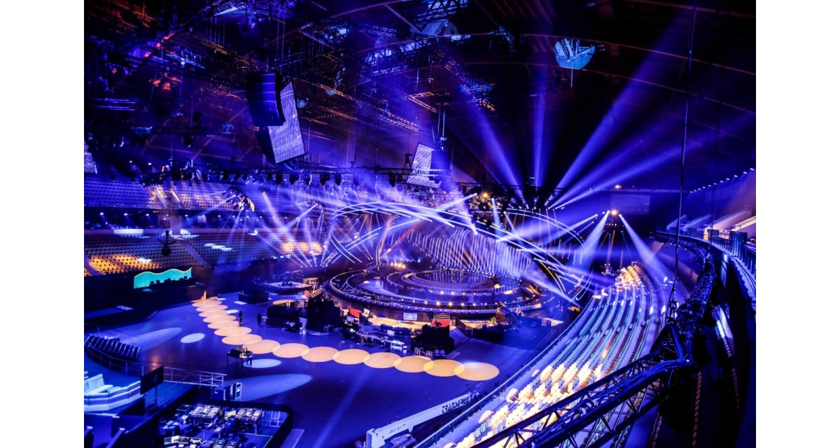 Eurovision stage Eurovision Song Contest Lisbon 2018 Redblueguidecom