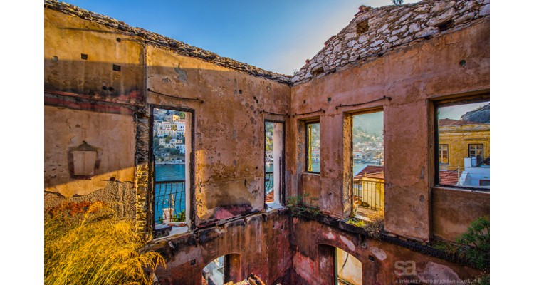 Symi-old house
