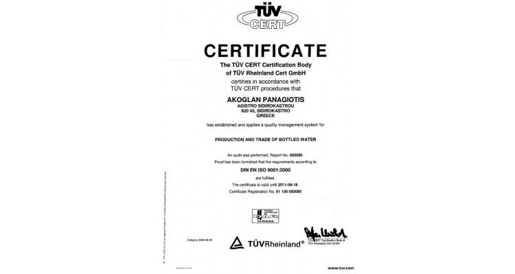 Beles-certificate