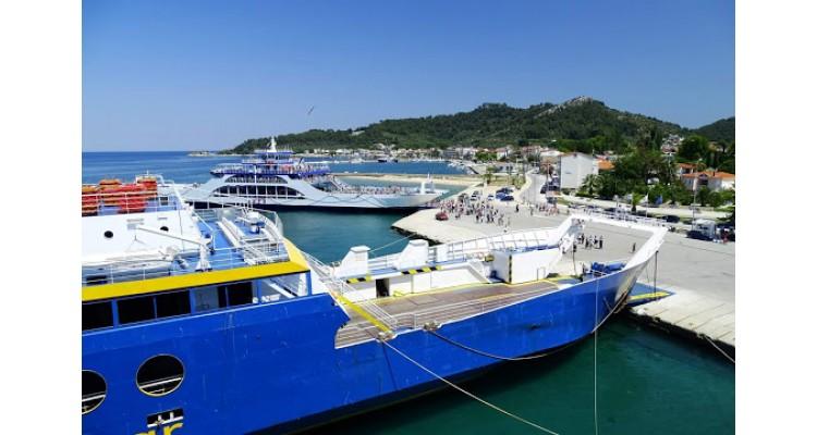 Limenas-port