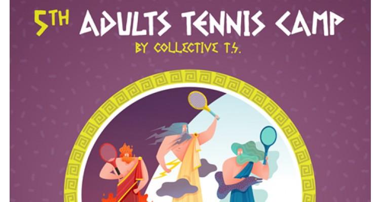 5th Adults Τennis Camp 2020