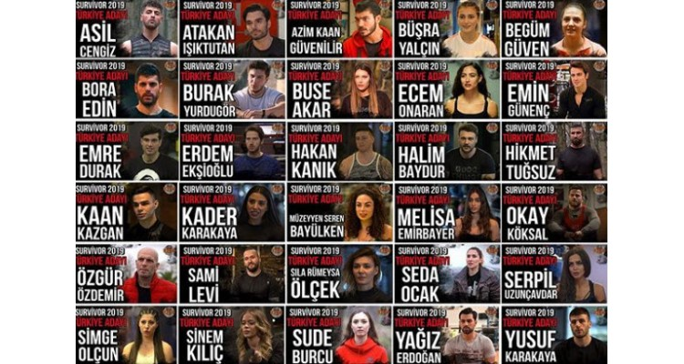 Survivor 2019-Turkish players