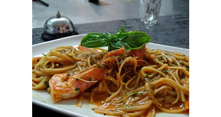 shrimps-pasta