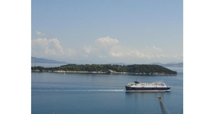 island Vido-Corfu