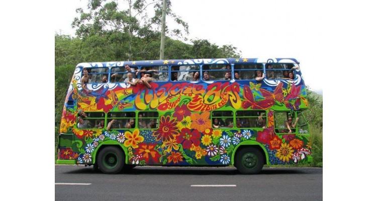 Free Earth Festival -bus