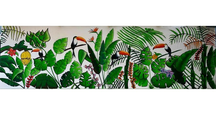 Christina Lappa-wall painting