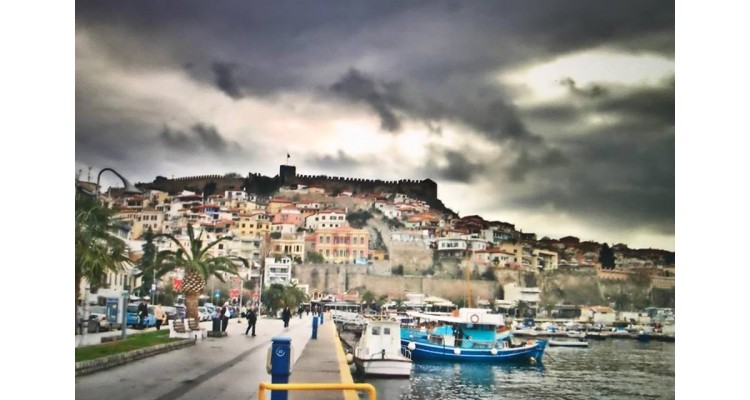 Kavala -city view