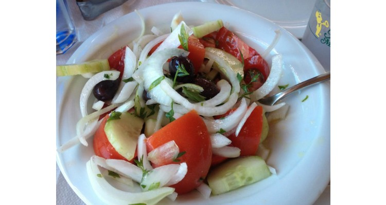 Agkyrovoli-greek salad