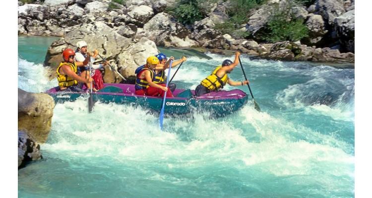 Voidomatis-rafting