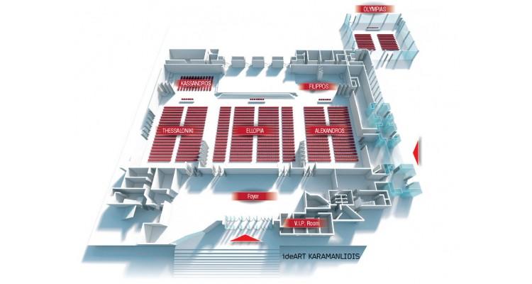 Vellidio Congress Center-floor plan