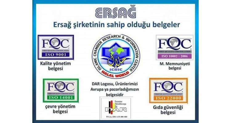 Ersag-certificate
