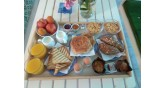 Summer House-Nikiti-breakfast