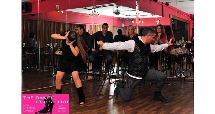 Dancing zeibekiko