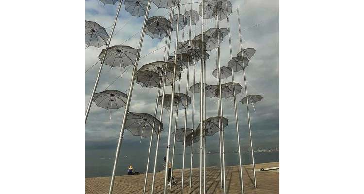 Thessaloniki-umbrellas