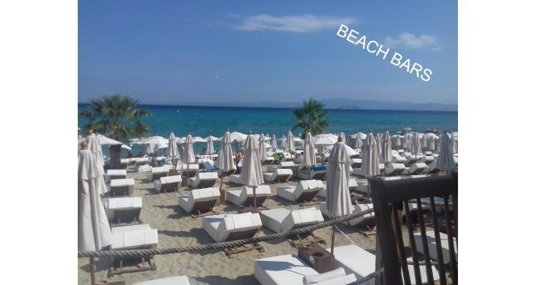 Pefkochori-beach bar