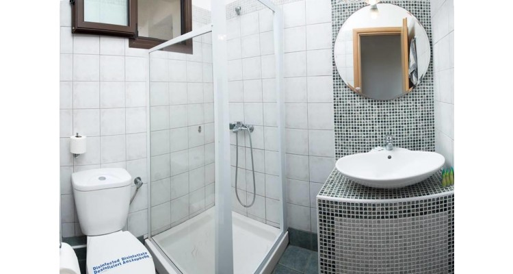 Hotel Areti-Neos Marmaras-bathroom