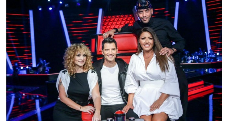 The voice of Greece-coaches