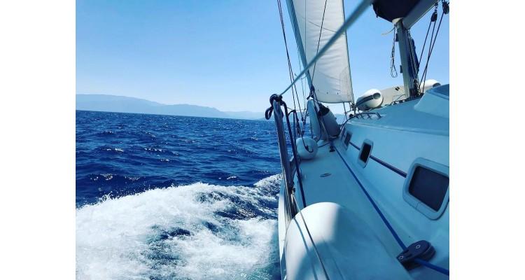 Triena-sailing boat
