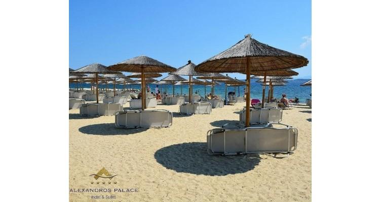 Alexandros Palace-Ouranoupoli-beach