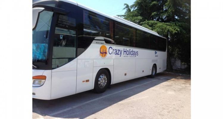 Crazy Holidays-λεωφορείο
