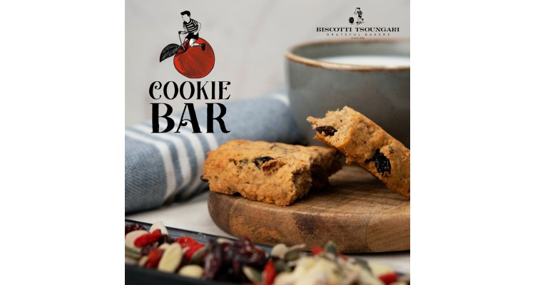 Biscotti-cookie bar